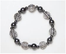Metal Spiral Magnetic Stretch Bracelet