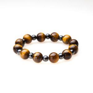 Tiger Eye Magnetic Stretch Bracelet