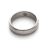 Magnetic Stainless Steel Band Ring