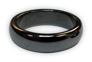 Black Magnetic Band Ring Best Utilized for Hangovers